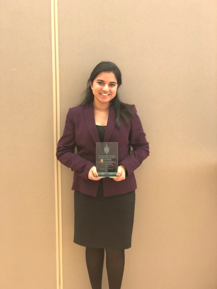 Ambreen Placed 2nd at the Congressional Debate Round Robin!